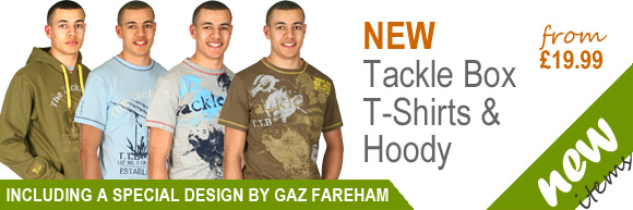 New Tackle Box T-Shirts and Hoody
