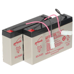 Angling Technics Additional 6V 7amp/hr Batteries