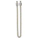 Solar Stainless Steel Chunky Chain with Stainless Steel Ends