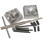 CJT In-Line Dumpy Dice Lead Mould Kit