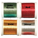 Fish Hawk Metallic Rod Whipping Thread