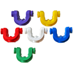 JAG Products Lockdown Rod Grip System - Spare Coloured Inserts