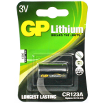 CR123A - 3V Lithium Battery