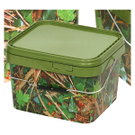 5 Litre Square Camo Bucket
