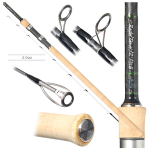 Free Spirit Barbel Tamer 12ft 1.75lb Avon/Quiver Rod