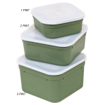 Lemco Square Top Bait Box 3 Pint