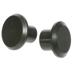 Delrin Butt Cap - 21mm Head
