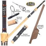 Special Offer - Tackle Box Darent Valley Carp Rod 9ft 3lb