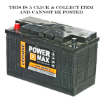 110 Amp/Hr Deep Cycle Leisure Battery