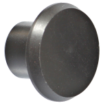 Delrin Butt Cap - 19mm Head