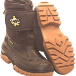 Vass Fleece Lined Boot With Velcro Strap