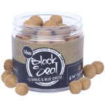 Proper Carp Baits Black Seal (Garlic & Blue Cheese) Hard Hookers
