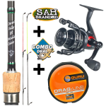 Combo Deal - TB Darent Valley 8ft Specialist Quiver Rod Kit - Bionic
