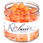 A2 Baits Tutti Fruity Fluro Orange Pop Ups