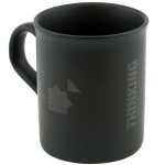 Thinking Anglers Matte Black Mug
