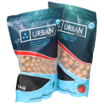 Urban Bait Strawberry Nutcracker Shelf Life Boilies 1kg