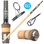 Century Stealth Graphene Carp Rod 12ft 3.25lb (50mm) - Full Cork Handle and Titanium Guides