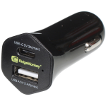 RidgeMonkey Vault 15W USB-C Car Charger Adaptor