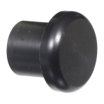 Delrin Butt Cap - 18mm Head