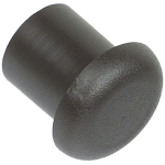 Wayland Black Nylon Butt Cap