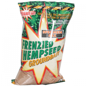 Dynamite Frenzied Hempseed Specimen Mix Groundbait 1kg
