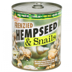 Dynamite Baits Frenzied Hempseed and 4mm Snails