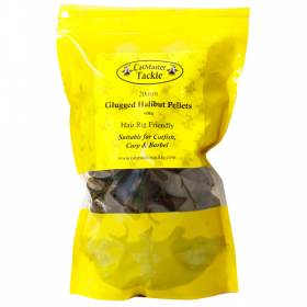 CatMaster Tackle Hair Rig Friendly Glugged Halibut Pellets 22mm - 1k