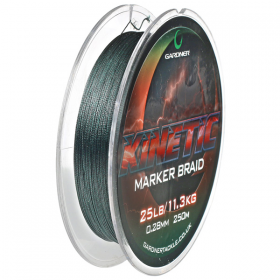 Gardner Kinetic Marker Braid 250m - 25lb