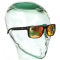 Fortis Bay Black Reflective Sunglasses