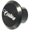 Century Black Anodised Ali Butt Cap - 22mm Head