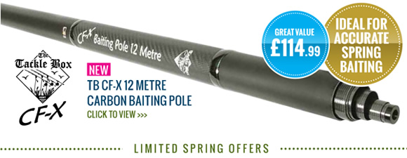 12 Meter Carbon Baiting Pole