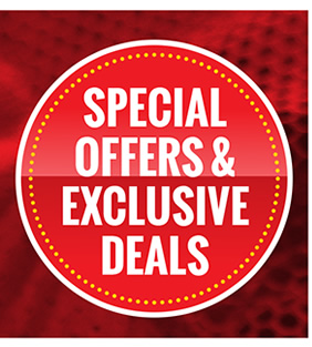 Special Offers // Exclusive Deals