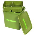 Starbaits 11 Litre Square Bucket with Removable Tray
