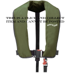 Waveline 165N ISO Manual Lifejacket with Crutch Strap