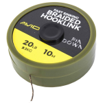 Avid Carp Pindown Braided Hooklink 20lb 10m