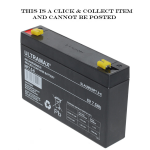 Baruch SLA Ultra Max NP7.5-6 VRLA Rechargeable Battery