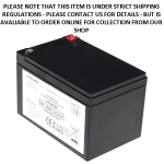 Baruch Ultra Max Lithium 12Amp - 12V LiFePO4 Rechargeable Battery an