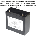 Baruch Ultra Max Lithium 22Amp - 12V LiFePO4 Rechargeable Battery an