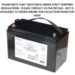 Baruch Ultra Max Lithium 100Amp - 12V LiFePO4 Rechargeable Battery a