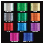 PacBay A Grade Metallic Whipping Thread 100yds