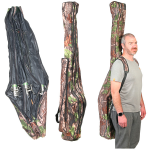 Anglers 3 Rod 10ft Camo Rod Holdall