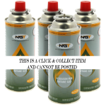 NGT Butane Gas - Pack of 4