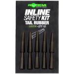 Korda Inline Safety Kit Tail Rubbers