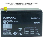 Baruch SLA Ultra Max NP9-12 VRLA Rechargeable Battery