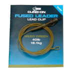 Nash Cling-On Fused Lead Clip Leader - 1m