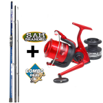Combo Deal - Lineaeffe Blue Ocean Rod and Reel Kit