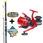 Combo Deal - Lineaeffe Vigor Beach Caster Rod and Reel Kit