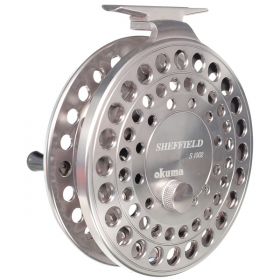 Okuma Sheffield S1002 Centre Pin Reel - Silver