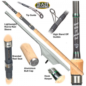 Combo Deal - TB Darent Valley 12ft 2-Piece Specialist Float Rod with Center Pin Reel Kit