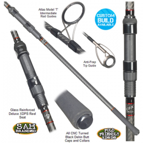 Tackle Box CF-X Black Edition Carp Rod 12ft 2.75lb